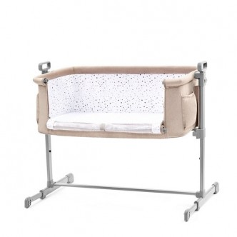 Kinderkraft - Patut Co-Sleeper 2 in 1 NESTE Beige