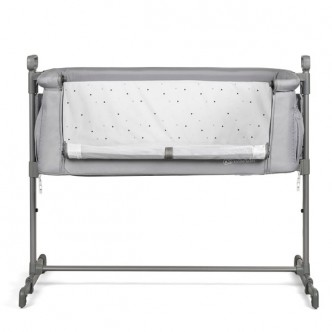 Kinderkraft - Patut Co-Sleeper 2 in 1 NESTE Grey